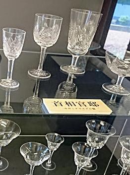 官邸使用グラス