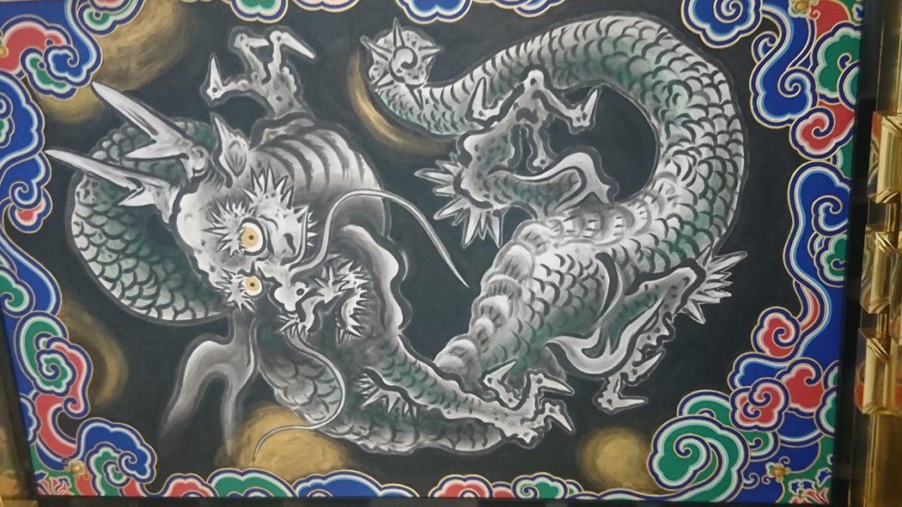 陽明門の龍